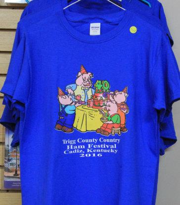 2016 Trigg County Country Ham Festival Shirt