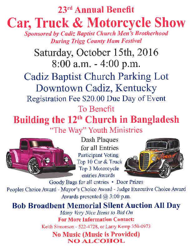 Ham Fest Car Show