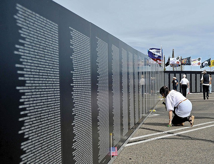 Vietnam Traveling Memorial Wall