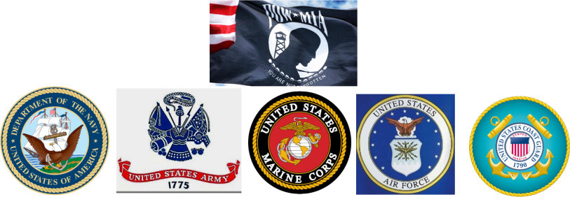 Military Service Logos